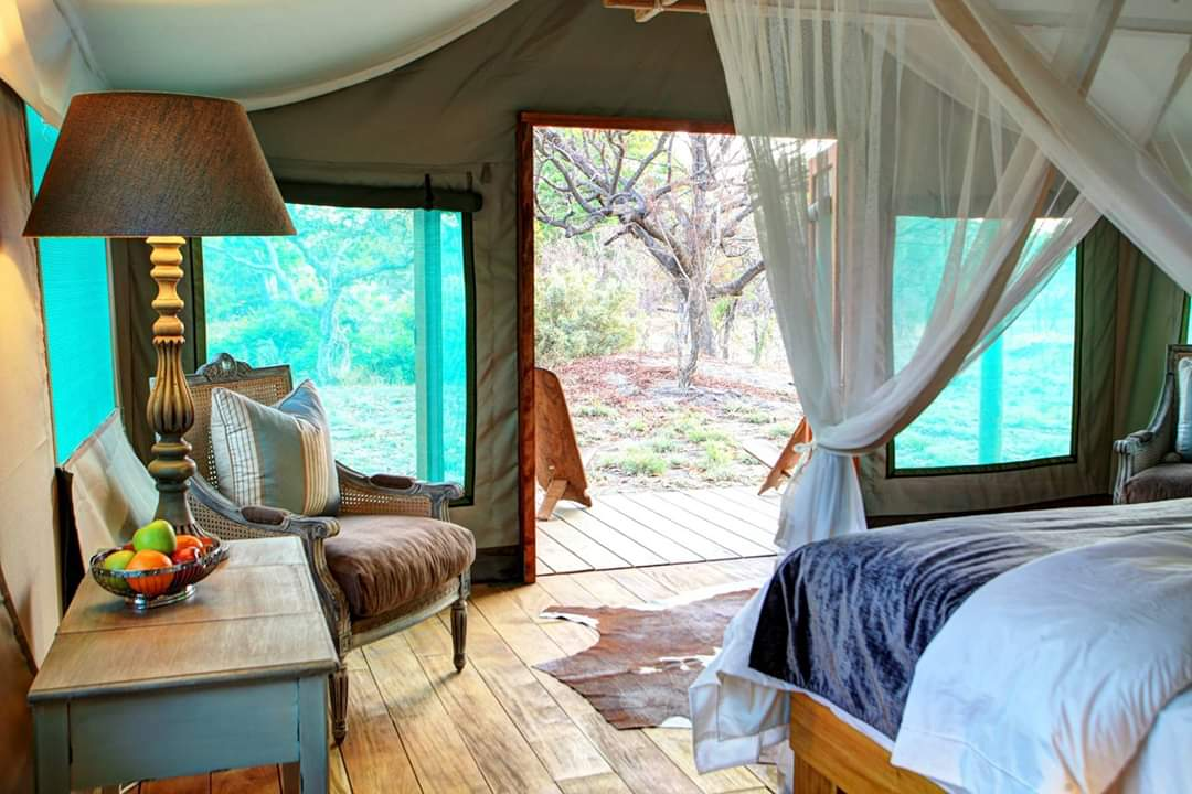 Fathala Senegal safari tented suite interior