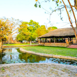 Fathala lodge pond