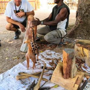 Senegal African craft markets
