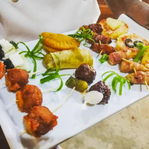 Safari lodge appetizer platter