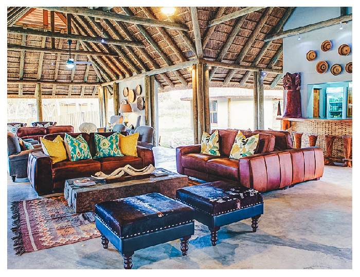 Fathala safari lodge living area