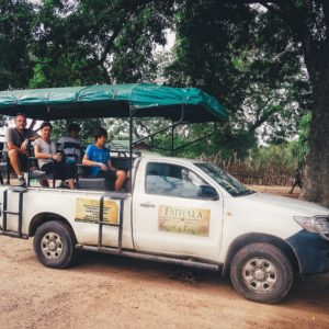 fathala open safari game drive vehicle