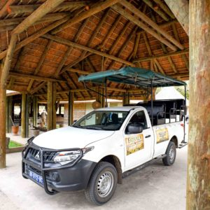 Senegal lodge open vehicle safari drive