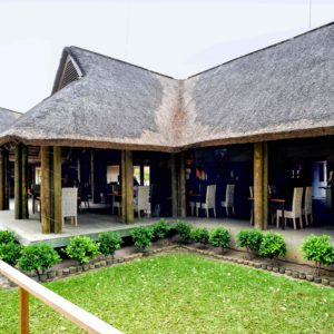 Senegal safari lodge restaurant