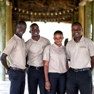 Senegal safari game reserve lodge staff