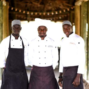 Senegal safari game reserve lodge chefs