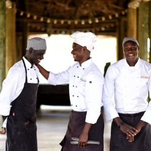 Safari game reserve lodge chefs