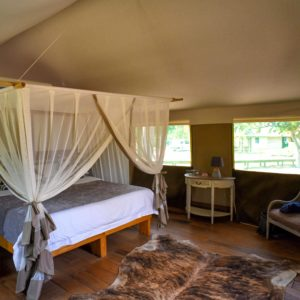 Luxury tented safari accommodation