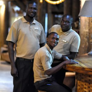 Senegal Safari lodge staff