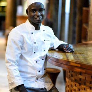 Senegal safari lodge restaurant chef