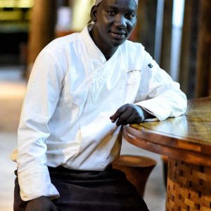 Senegal safari lodge restaurant chef