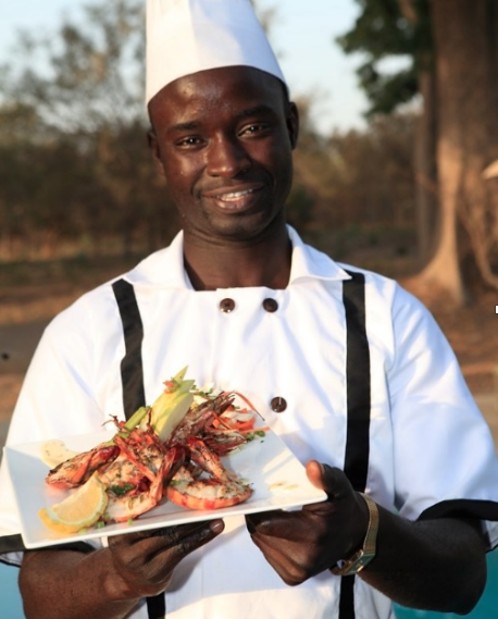 Senegal reserve chef and food