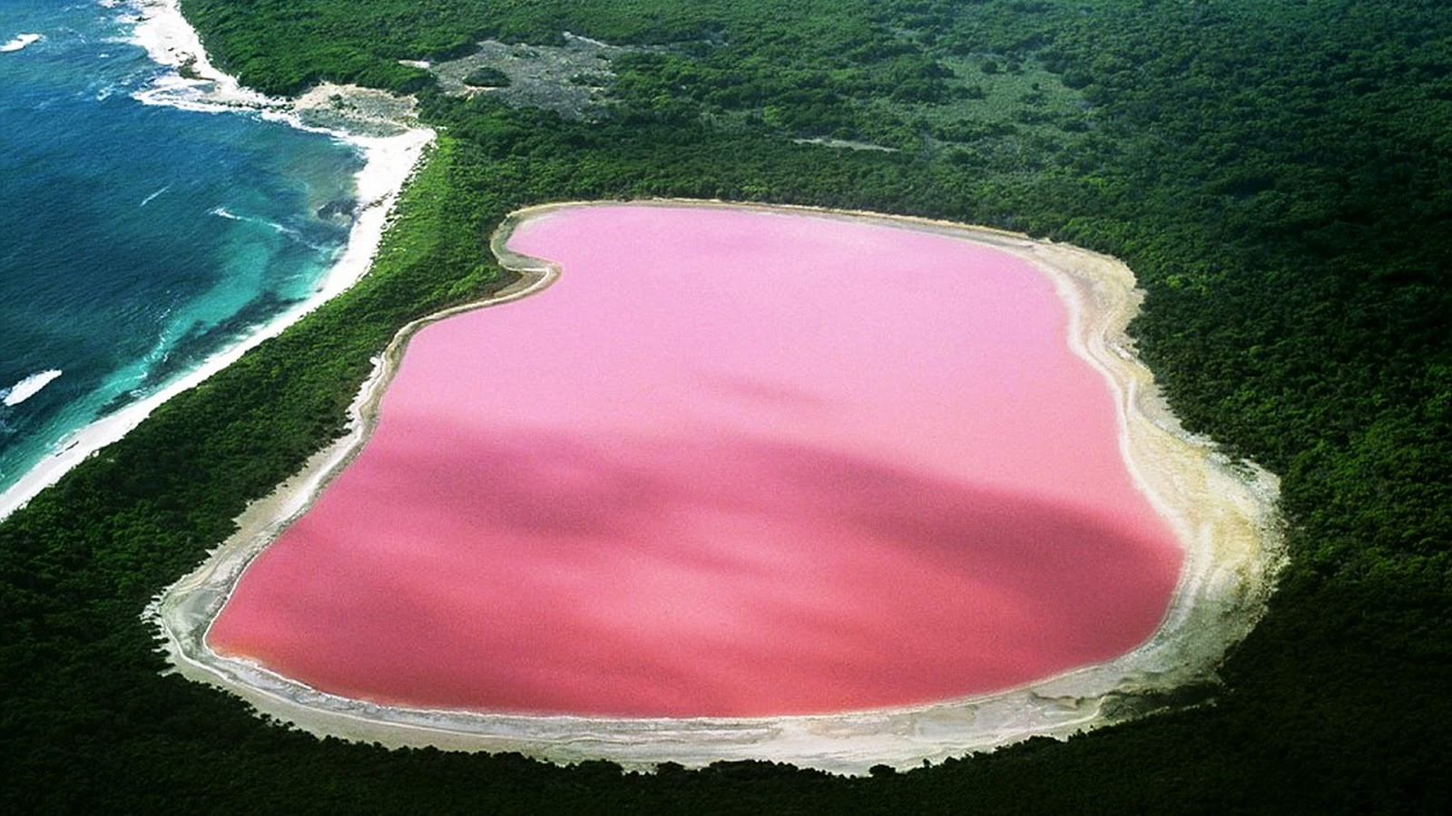 Senegal Pink Lake Retba
