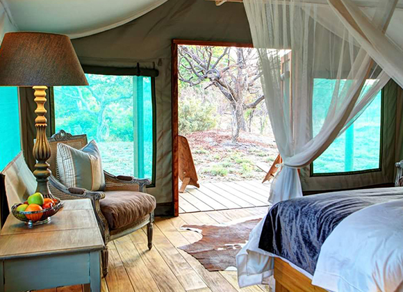 Deluxe Tented Suite Fathala Lodge Bedroom 3