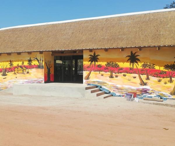 Senegal reserve African wall mural